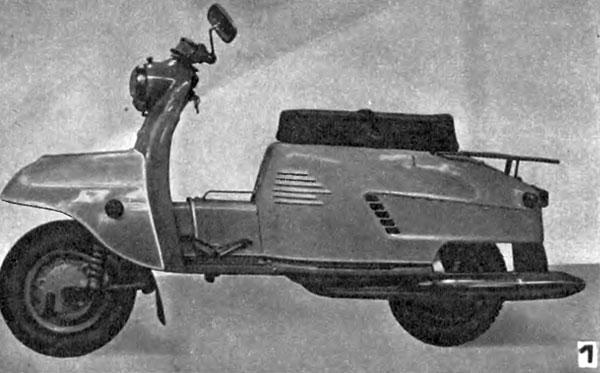 Le constructeur russe Tula Ris-1-motoroller-tulitsa